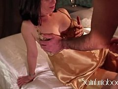 Adorable, Mommy, Sucking, Pussy, Cock, Brunette, Cougar, Tight, Fucking, Indian, Not son, Handjob, Horny