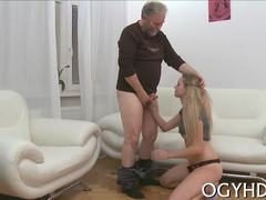 Old and young, Blonde, Cute, Fat, Hardcore, Fucking, Russian, Old, Teen, Amateurs, Blowjob