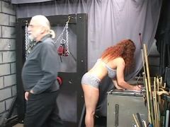 Punished, Basement, Maledom, Bdsm, Boobs, Lingerie, Torture, Choking, Fetish, Old, Gagging, Bound, Disgrace, Slave, Masked, Fat, Bbw, Sex, Rough, Master, Extreme, Feet, Big tits, Redhead, Tits, Blindfolded, Mature