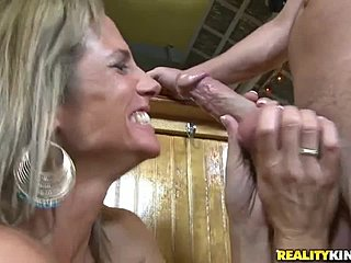 Throat blowjob her fuck