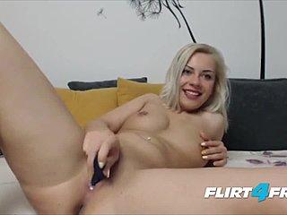 Blonde pierced nipple masturbation xxx