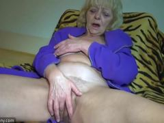 Sex, Masturbation, Mature, Fat, Horny, Old, Grandmother, Granny, Bed, Chubby, High definition