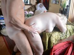 Grandmother, Doggystyle, Mature, Quickie, Hairy, Old, Granny, Fucking, Bent over, High definition