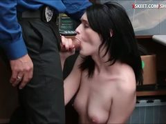 Reality, Hidden, Hidden cam, Teen, Hardcore, Skinny, Office, Small tits, Police, Babe, Fucking, At work, Tits, Brunette, Sucking