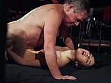 Sex, Daddy, Not sister, Lick, Old man, European, Old, Young, High definition, Brunette, Hardcore, Blowjob
